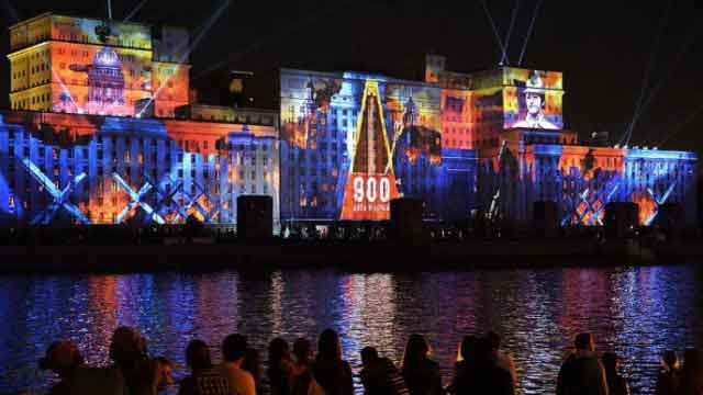 Projects: Moscow Lights Up